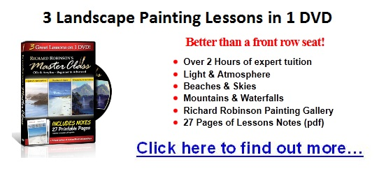 landscape oil painting lessons DVD